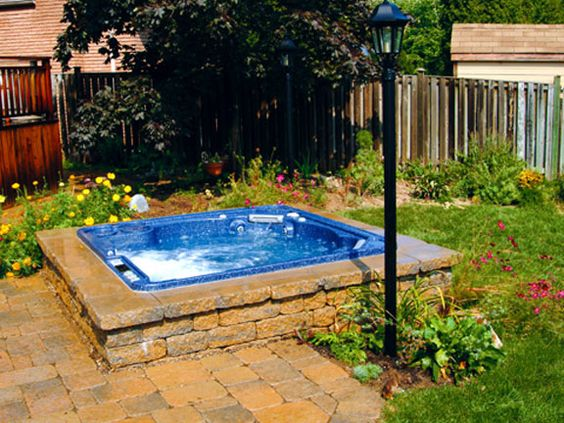 hot tub surround ideas 5