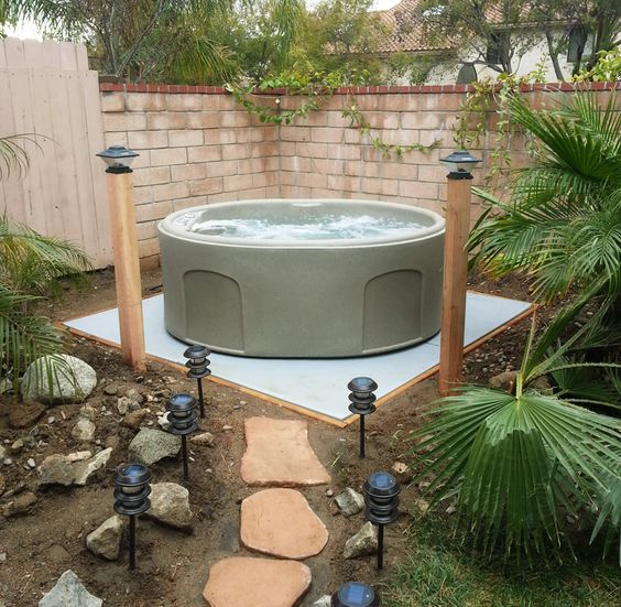 hot tub surround ideas 7