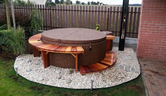 hot tub surround ideas 8