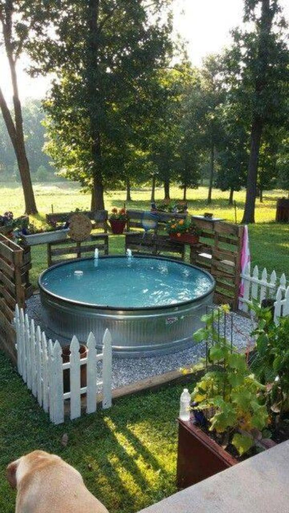 hot tub surround ideas 9
