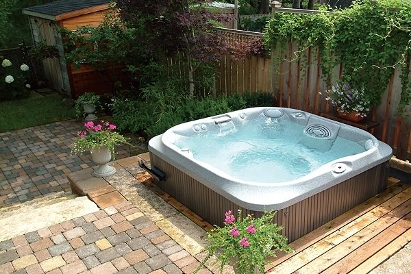 hot tub surround ideas feature