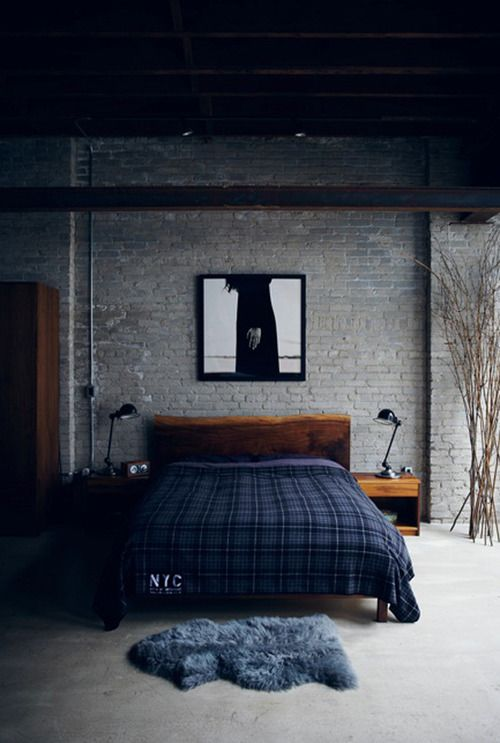 industrial bedroom 13