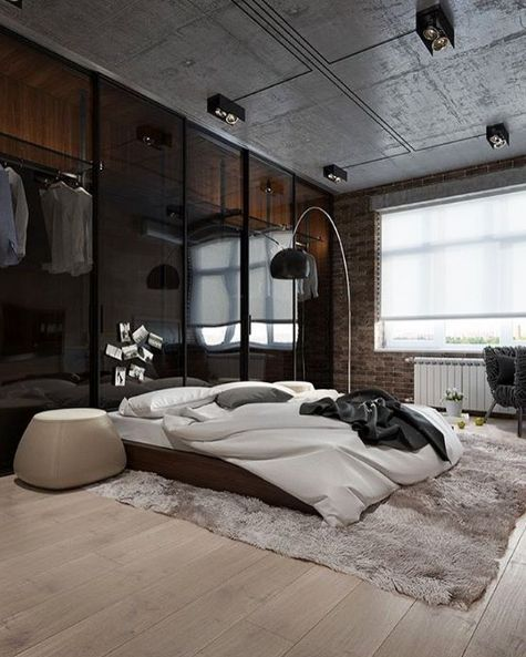 industrial bedroom 26