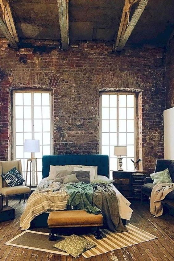 industrial bedroom 4