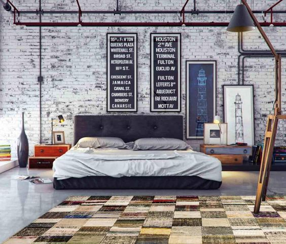 industrial bedroom 7