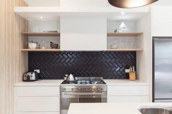 kitchen splashback feature