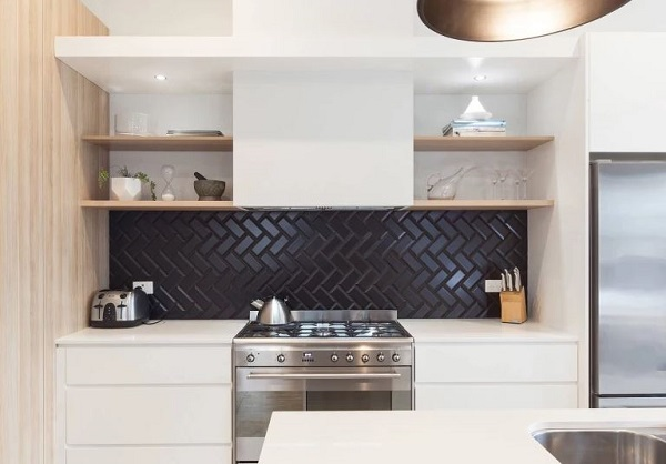 kitchen splashback feature