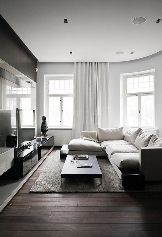 minimalist living room 20