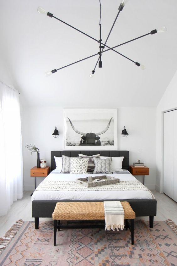 modern boho bedroom 1