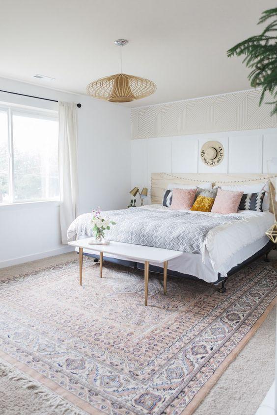 modern boho bedroom 10