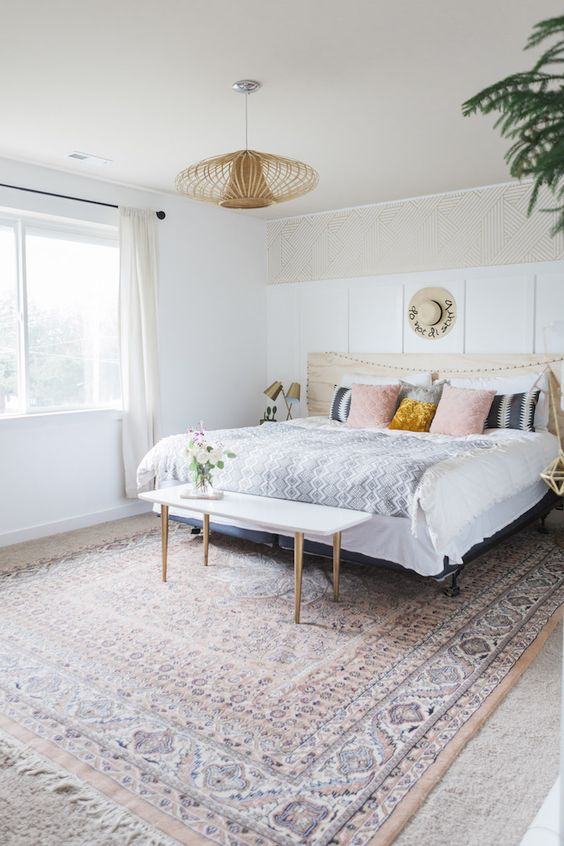 25+ Most Stylish Modern Boho Bedroom Decorating Ideas on A ... on Modern Boho Bedroom  id=30231