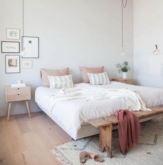 modern boho bedroom 13