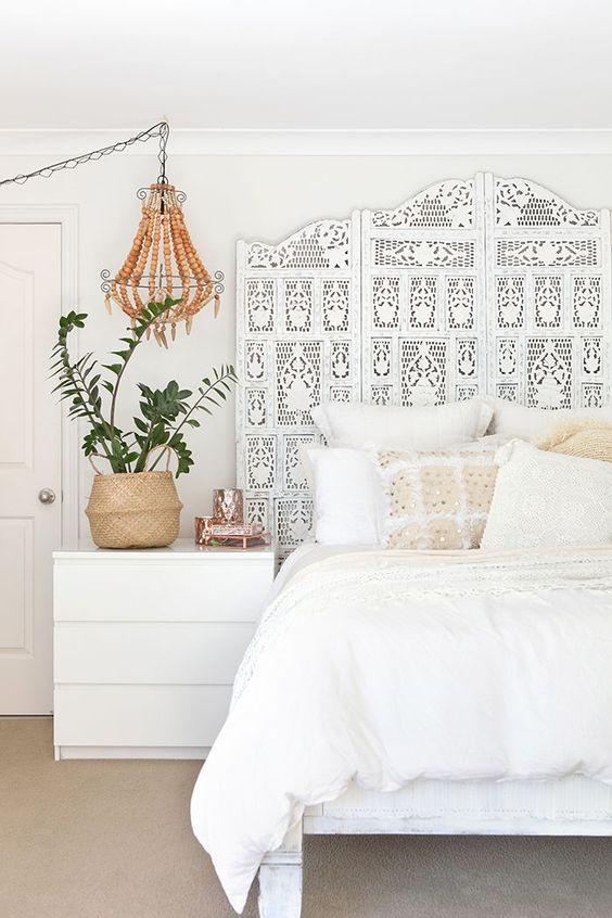 modern boho bedroom 16