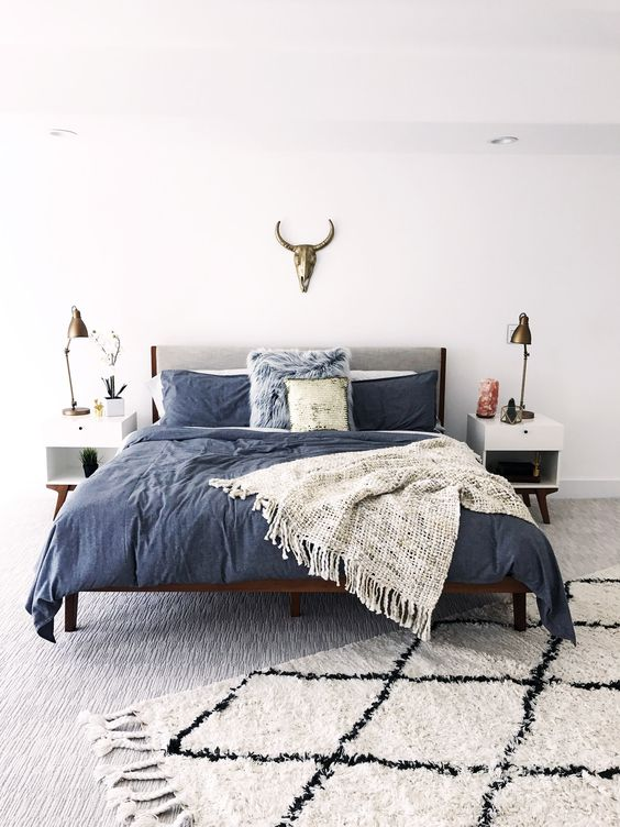 modern boho bedroom 18