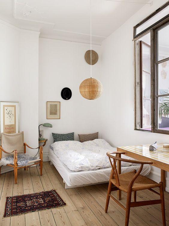 modern boho bedroom 20