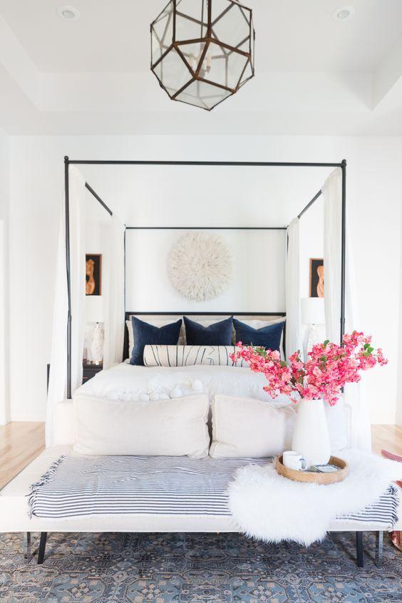 modern boho bedroom 3