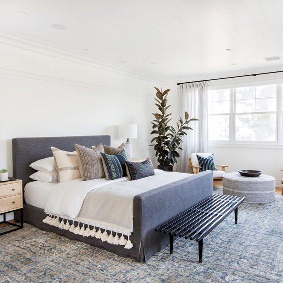 modern boho bedroom 5