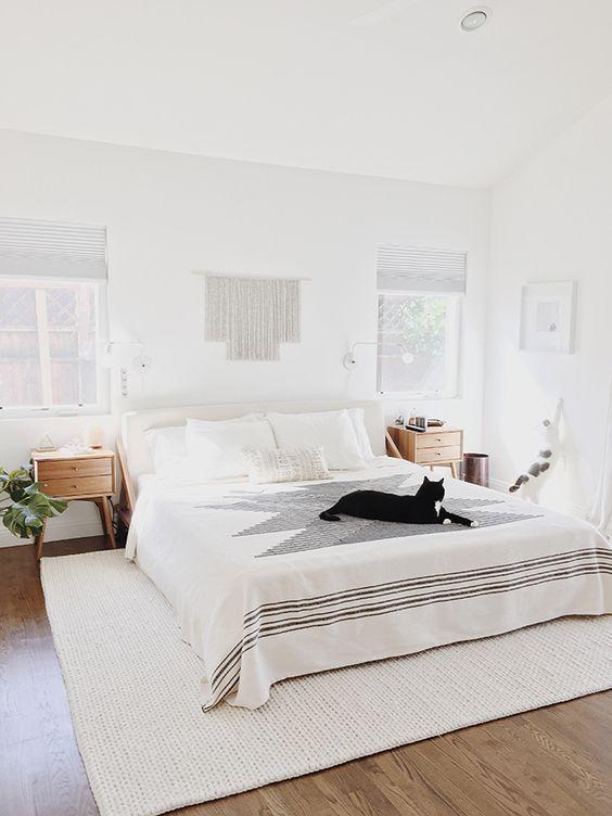 modern boho bedroom 7