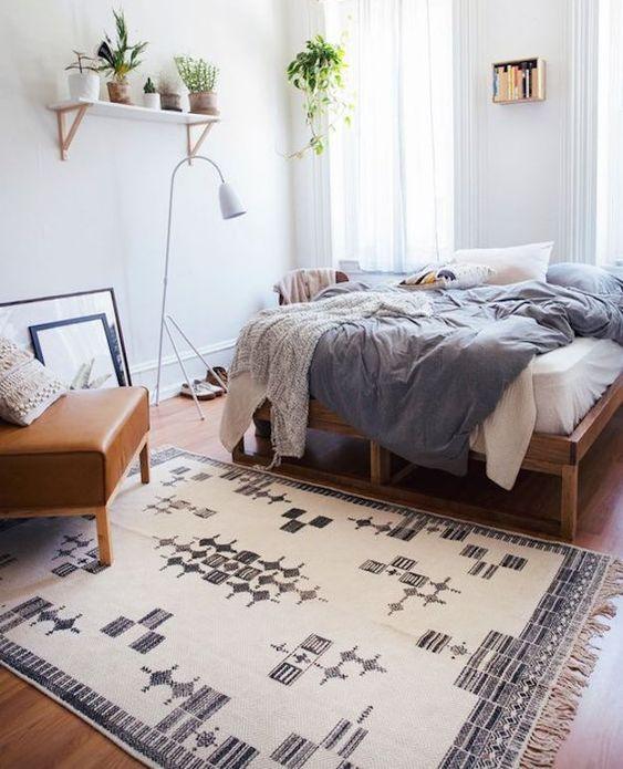 modern boho bedroom 8