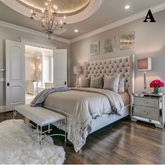 modern french bedroom 17