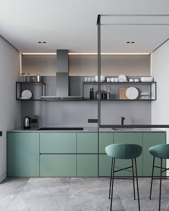 modern kitchen cabinet 13