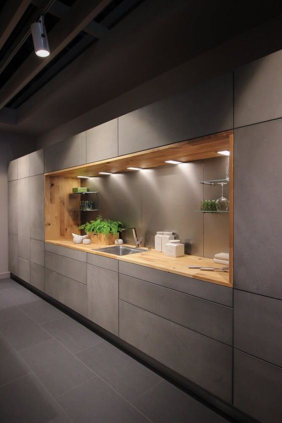 modern kitchen cabinet 16