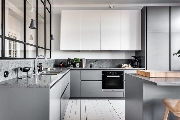 modern kitchen cabinet feature