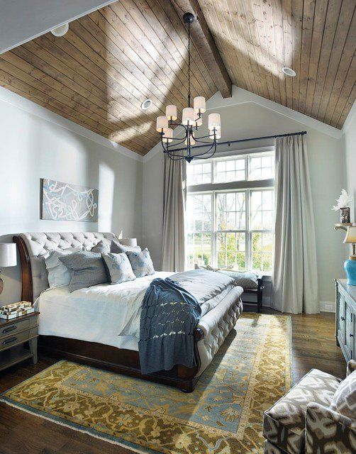 rustic master bedroom 10