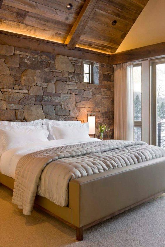 rustic master bedroom 12