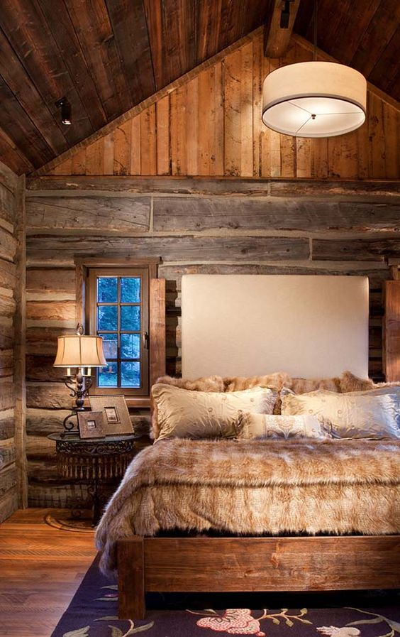 rustic master bedroom 14