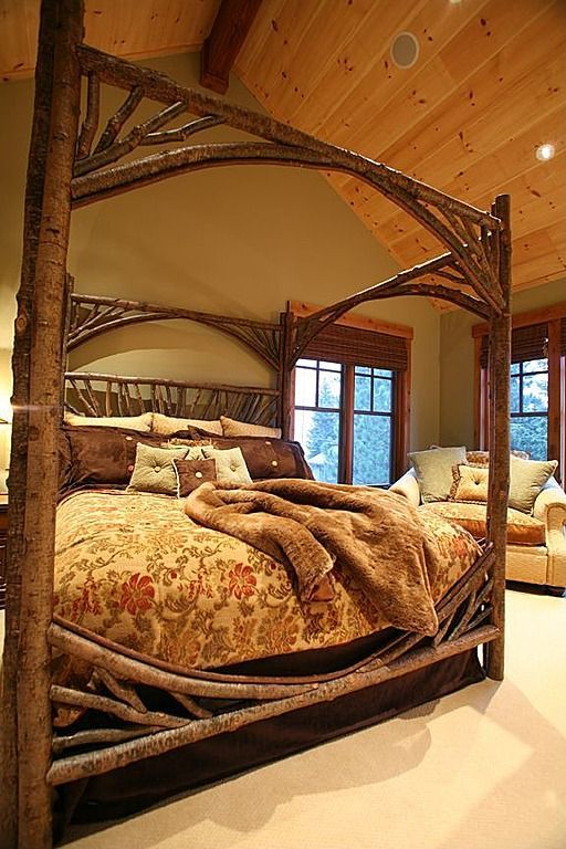 rustic master bedroom 17