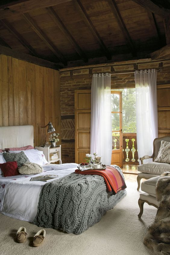 rustic master bedroom 24