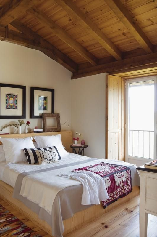 rustic master bedroom 25