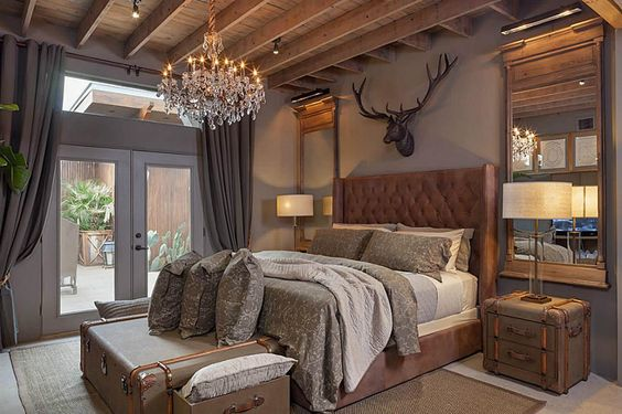 rustic master bedroom 27