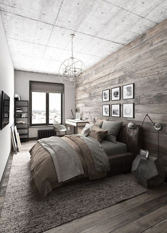 rustic master bedroom 4