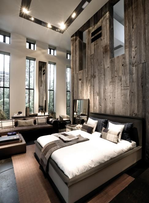 rustic master bedroom 5