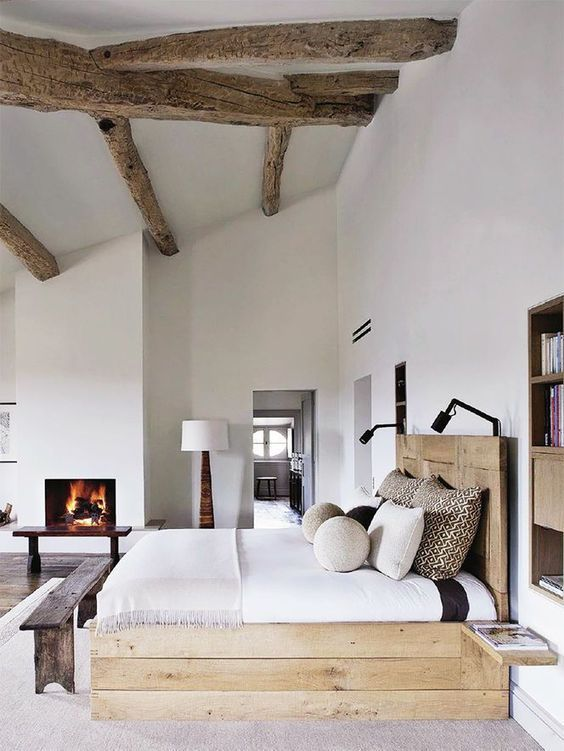 rustic master bedroom 6