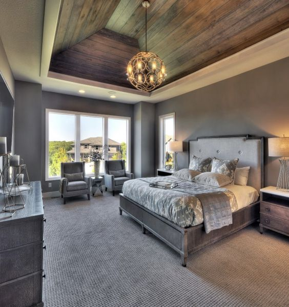rustic master bedroom 9