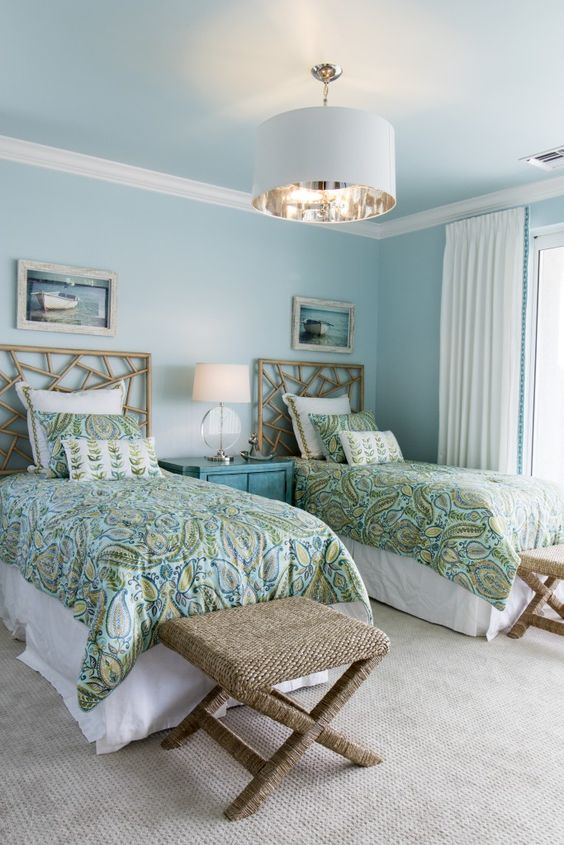 soft blue bedroom 11
