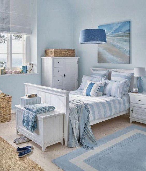 soft blue bedroom 12