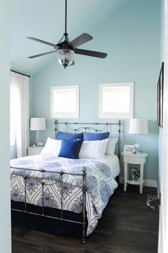 soft blue bedroom 25