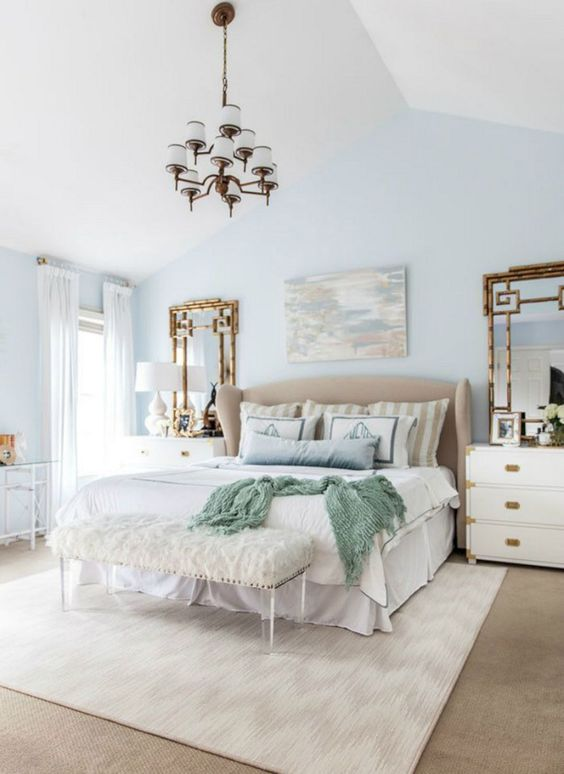 soft blue bedroom 9
