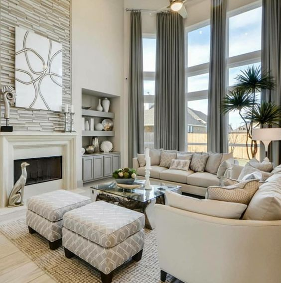 taupe living room 12