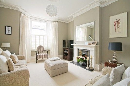 taupe living room 13