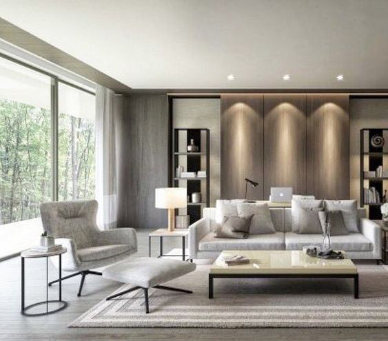 taupe living room 2