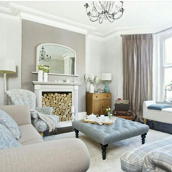 taupe living room 4