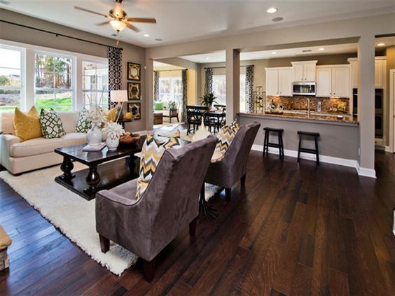taupe living room 6