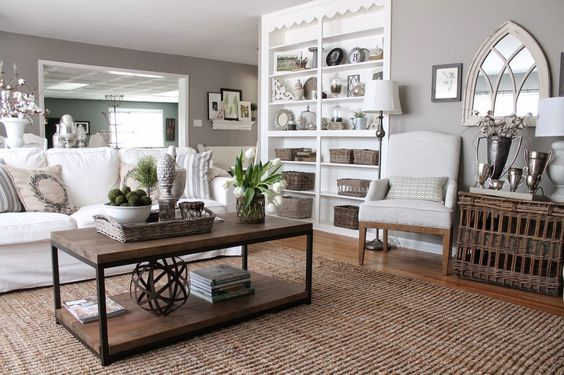 taupe living room 8