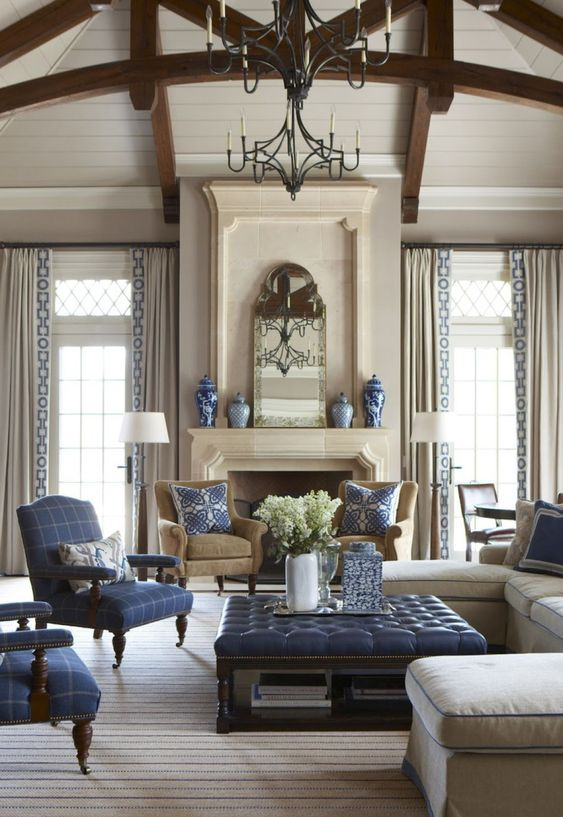 traditional living room 10