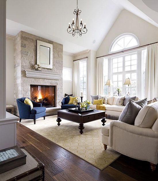 traditional living room 14